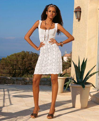 Белое платье от Квелле. Цена