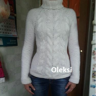 свитер из нако арктик