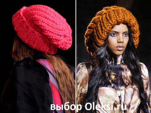 шапка giles deakon 2014 розовая и коричневая