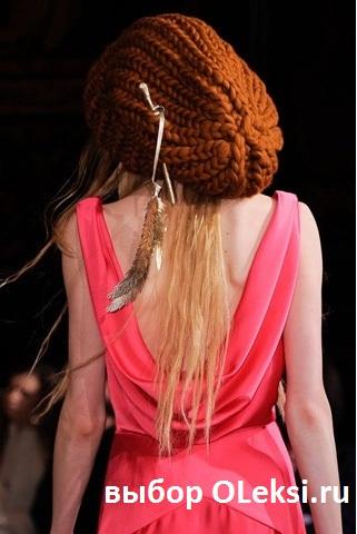 шапка giles deakon вид сзади