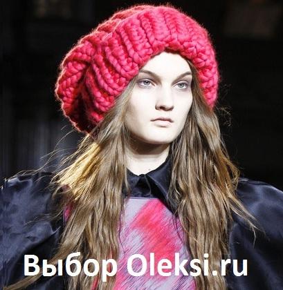 модные вязаные шапки 2014 вязание на Oleksiru