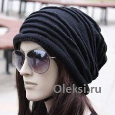 шапка со складками