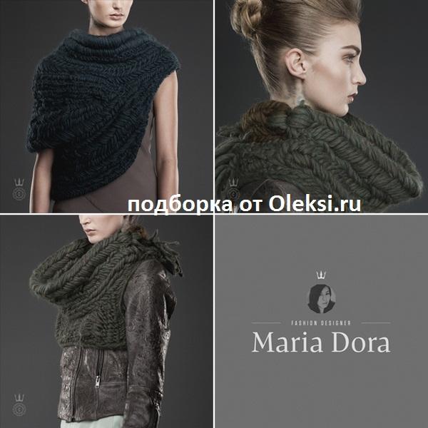 шарфы от maria dora