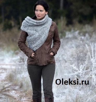 вязаные шарфы вязание на Oleksiru