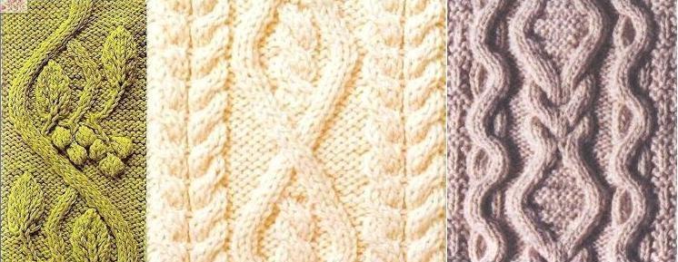 нужную схему вязания