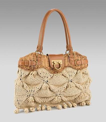Рхема вязания крючком сумки.