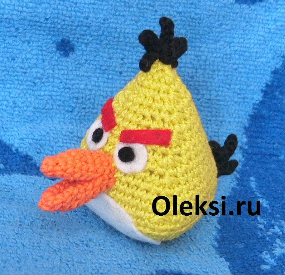 желтая angry birds