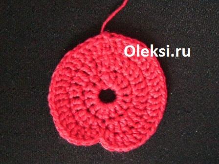 паричок вязаной нюши