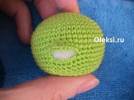 вязаный дракончик смешарик хрум вязание на Oleksiru