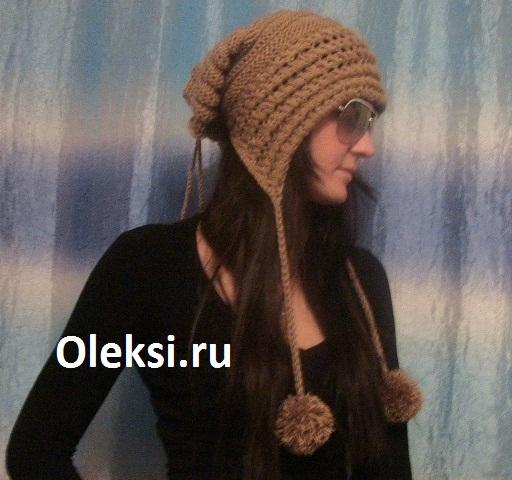детская шапка-труба. вязанные шапки женские,труба