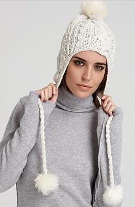 модная вязаная шапка с арнами 2012