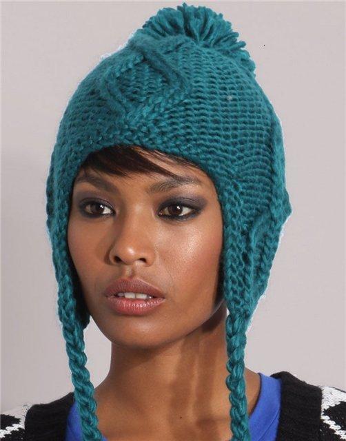 шапки 2012 / Модные вязаные шапки / Фото