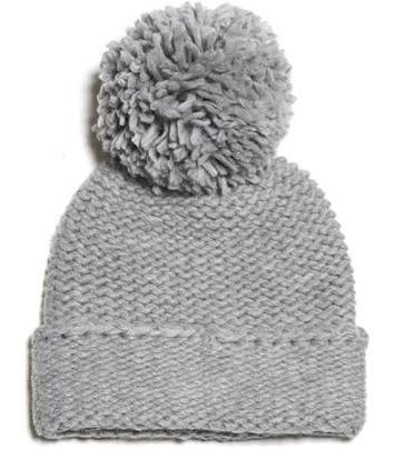 Модные вязаные шапки 2012 с