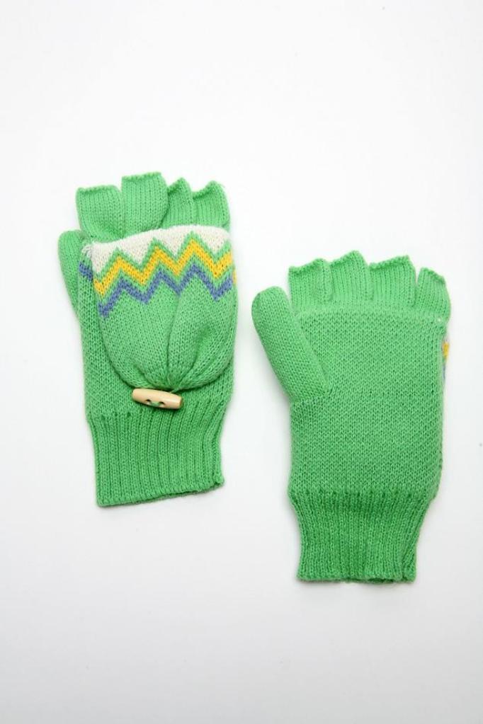Вязание пальцами снуд