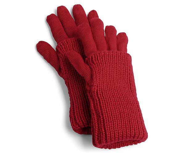 Ажурные перчатки, связаны крючком.
