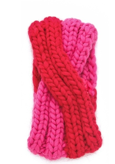 розовая повязка тюрбан