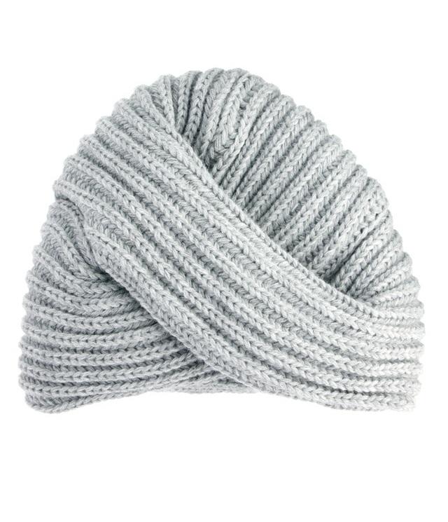 шапка тюрбан вид спереди