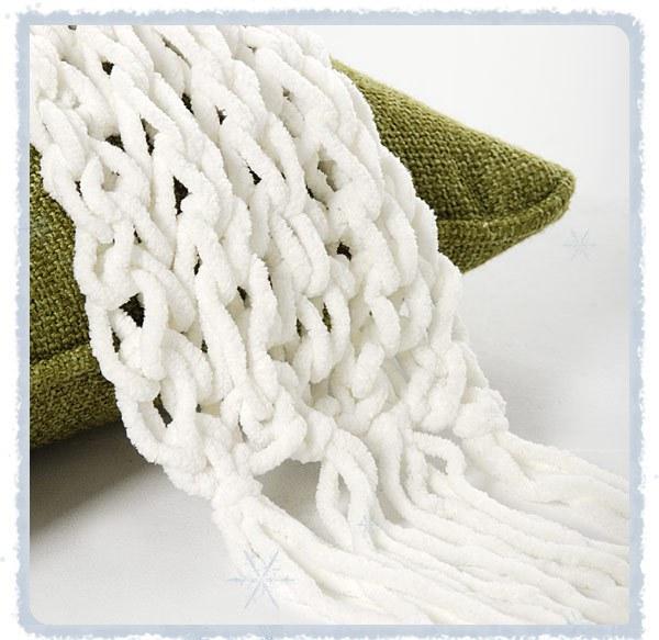 вязанные шарфы