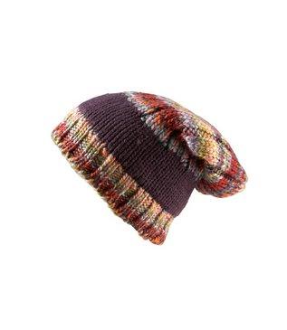 модная цветная шапка 2010