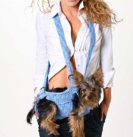 Прикольный дизайн сумок-переносок для собак от Шенон Бич.