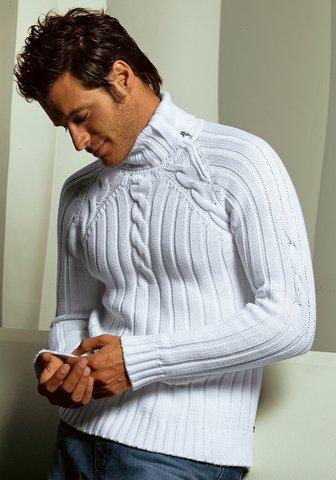 Схема вязания мужская