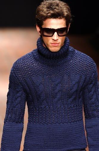 Вот этот свитер я бы поставила