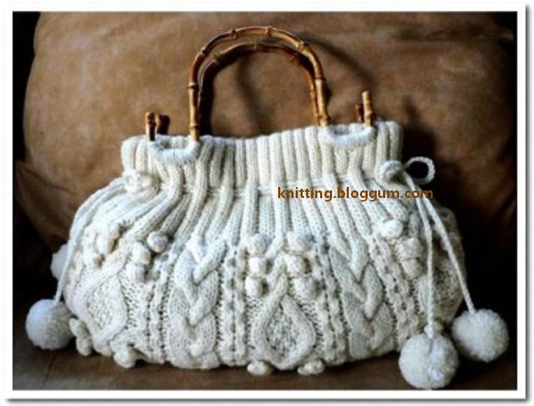 сумки вязанные крючком.  Вязаные сумки на Knitting-Info.ru.
