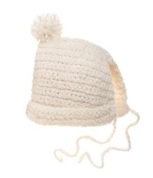 на фото: модные вязаные шапки 2011
